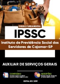 Auxiliar de Serviços Gerais - IPSSC