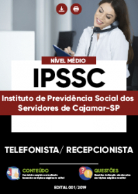Telefonista - Recepcionista - IPSSC