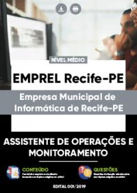 Assistente de Operações e Monitoramento - EMPREL Recife-PE