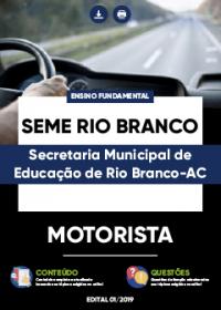 Motorista - SEME Rio Branco