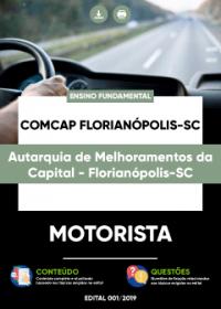 Motorista - COMCAP Florianópolis-SC