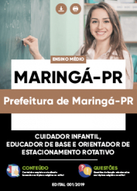 Cuidador Infantil - Prefeitura de Maringá-PR