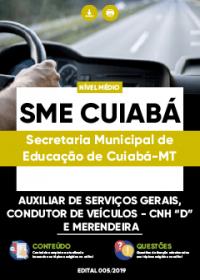 Auxiliar de Serviços Gerais - SME Cuiabá