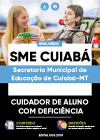 Cuidador de Aluno com Deficiência - SME Cuiabá