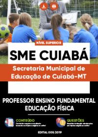 Professor Ensino Fundamental - Educação Física - SME Cuiabá