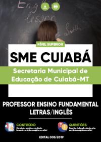Professor Ensino Fundamental - Letras - Inglês- SME Cuiabá