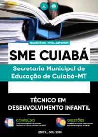 Técnico em Desenvolvimento Infantil - SME Cuiabá