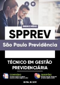 Técnico em Gestão Previdenciária - SPPREV