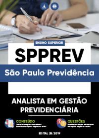 Analista em Gestão Previdenciária - SPPREV