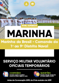 Serviço Militar Voluntário - Marinha do Brasil - 1º ao 9º Distrito Naval