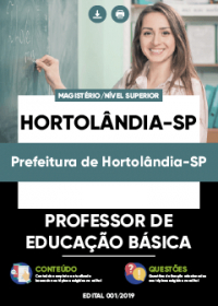 Professor de Educação Básica - Prefeitura de Hortolândia-SP