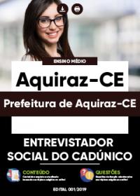Entrevistador Social do Cadúnico - Prefeitura de Aquiraz-CE