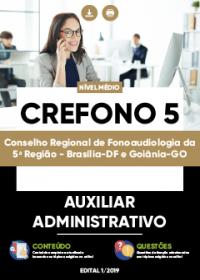 Auxiliar Administrativo - CREFONO 5