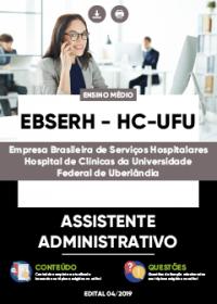 Assistente Administrativo - EBSERH - HC-UFU