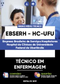 Técnico em Enfermagem - EBSERH - HC-UFU