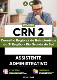 Assistente Administrativo - CRN 2ª Região