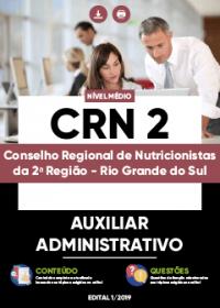 Auxiliar Administrativo - CRN 2ª Região
