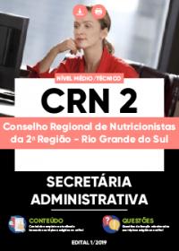 Secretária Administrativa - CRN 2ª Região