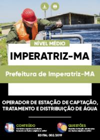 Operador de Estação - Prefeitura de Imperatriz-MA