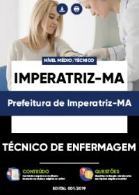 Técnico de Enfermagem - Prefeitura de Imperatriz-MA