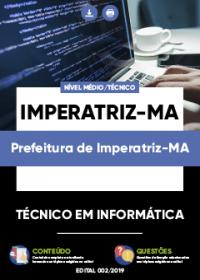 Técnico em Informática - Prefeitura de Imperatriz-MA