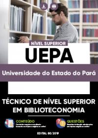 Técnico de Nível Superior em Biblioteconomia - UEPA