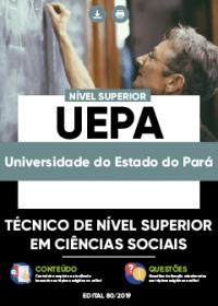 Técnico de Nível Superior em Ciências Sociais - UEPA