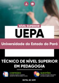 Técnico de Nível Superior em Pedagogia - UEPA