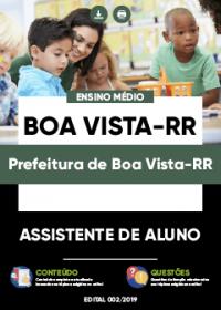 Assistente de Aluno - Prefeitura de Boa Vista-RR