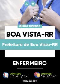 Enfermeiro - Prefeitura de Boa Vista-RR