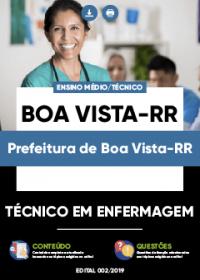 Técnico em Enfermagem - Prefeitura de Boa Vista-RR