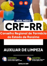 Auxiliar de Limpeza - CRF-RR
