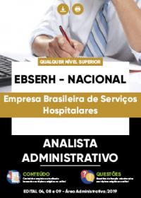 Analista Administrativo - EBSERH - NACIONAL