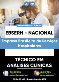 Técnico em Análises Clínicas - EBSERH - NACIONAL