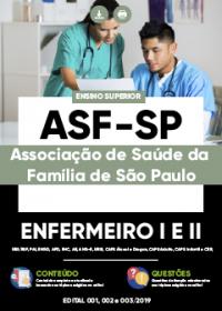 Enfermeiro I e II - ASF-SP