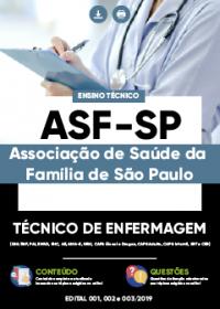 Técnico de Enfermagem - ASF-SP