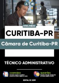 Técnico Administrativo - Câmara de Curitiba-PR