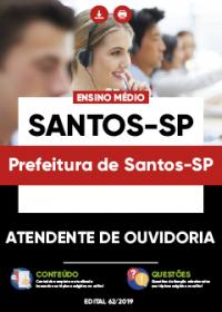 Atendente de Ouvidoria - Prefeitura de Santos-SP