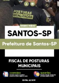 Fiscal de Posturas Municipais - Prefeitura de Santos-SP