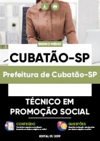 Técnico em Promoção Social - Prefeitura de Cubatão-SP