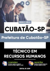 Técnico em Recursos Humanos - Prefeitura de Cubatão-SP