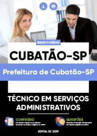 Técnico em Serviços Administrativos - Prefeitura de Cubatão-SP