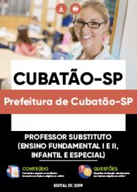 Professor Substituto - Prefeitura de Cubatão-SP