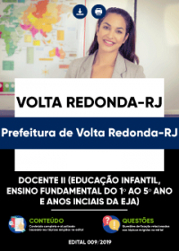 Docente II - Prefeitura de Volta Redonda-RJ