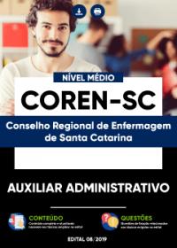 Auxiliar Administrativo - COREN-SC
