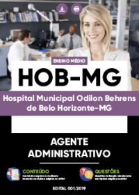 Agente Administrativo - HOB-MG