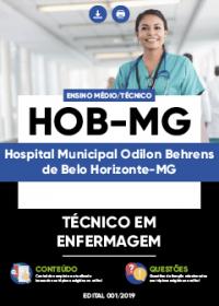 Técnico em Enfermagem - HOB-MG