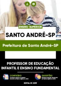 Professor de Ed. Infantil e Ensino Fundamental - Prefeitura de Santo André-SP