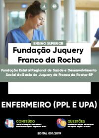Enfermeiro - Fundação Juquery Franco da Rocha-SP
