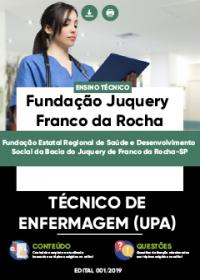 Técnico de Enfermagem - Fundação Juquery Franco da Rocha-SP